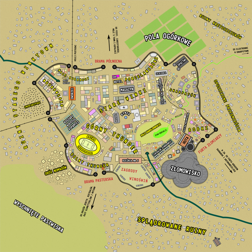 Plan miasta Winktown