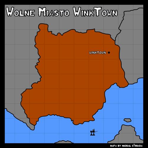 Prosta mapa administracyjna